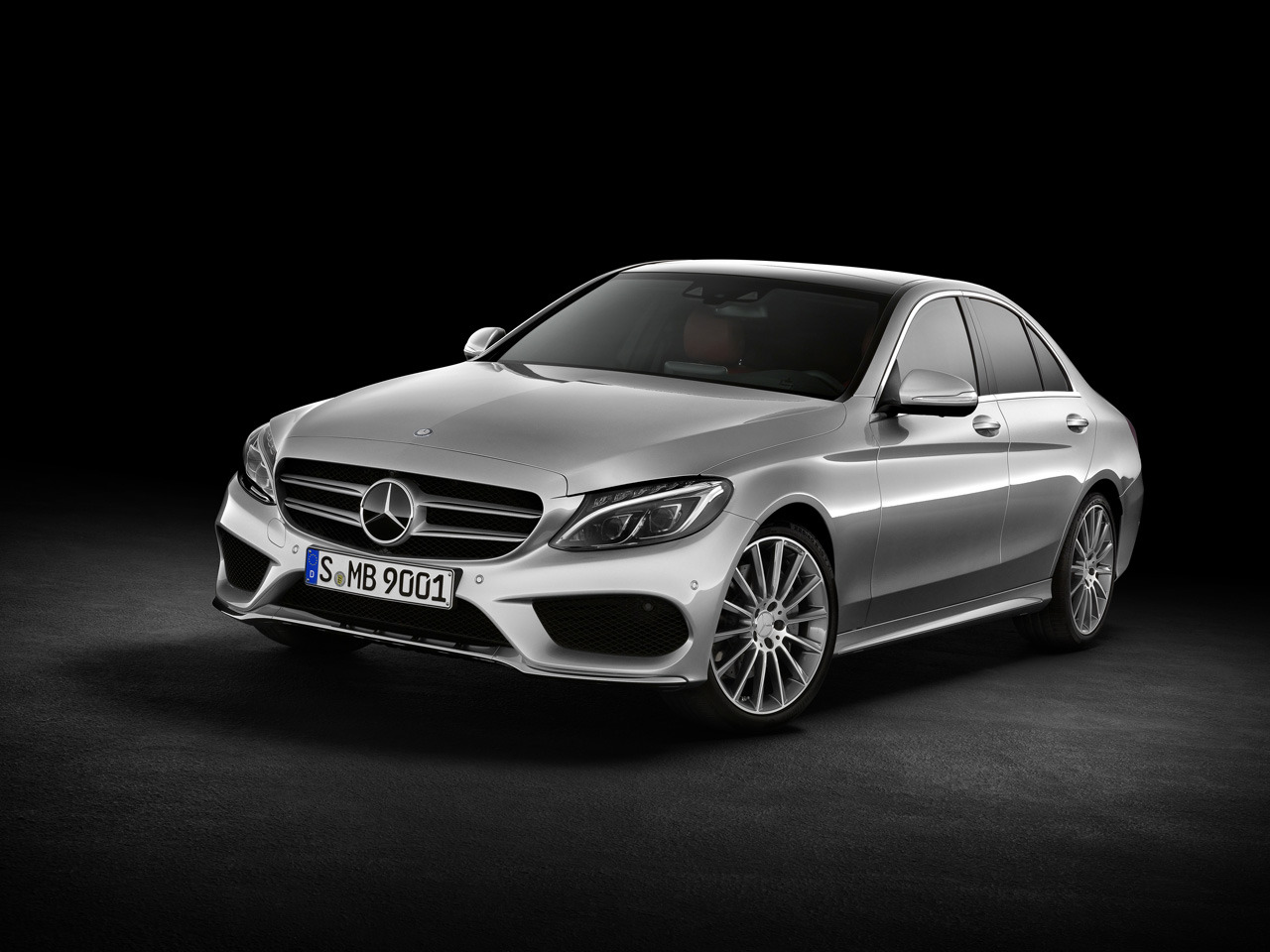 Mercedes Classe C 2014 Dark Cars Wallpapers
