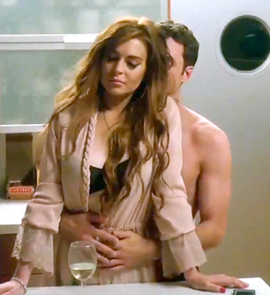 from Enzo lindsay lohan sex nude scene