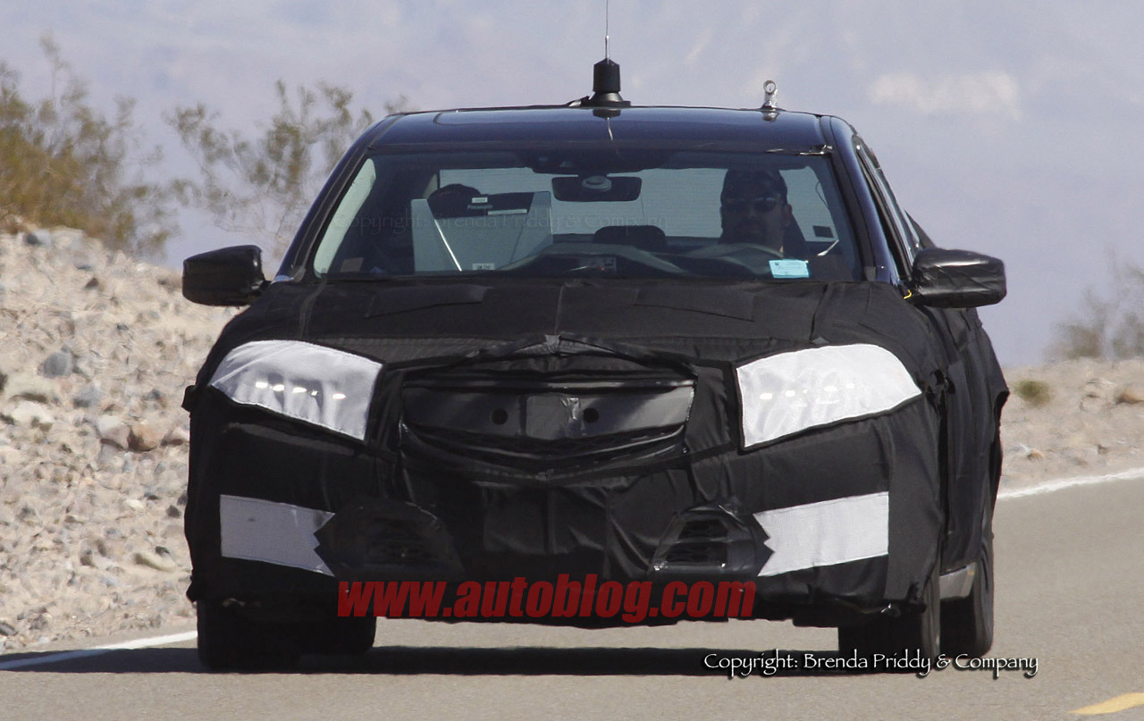 2015 acura tlx spy shots photos