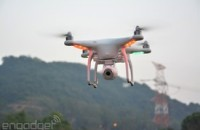 DJI's Phantom 2 Vision takes a stabilized camera to the sky, we go hands-on (video)