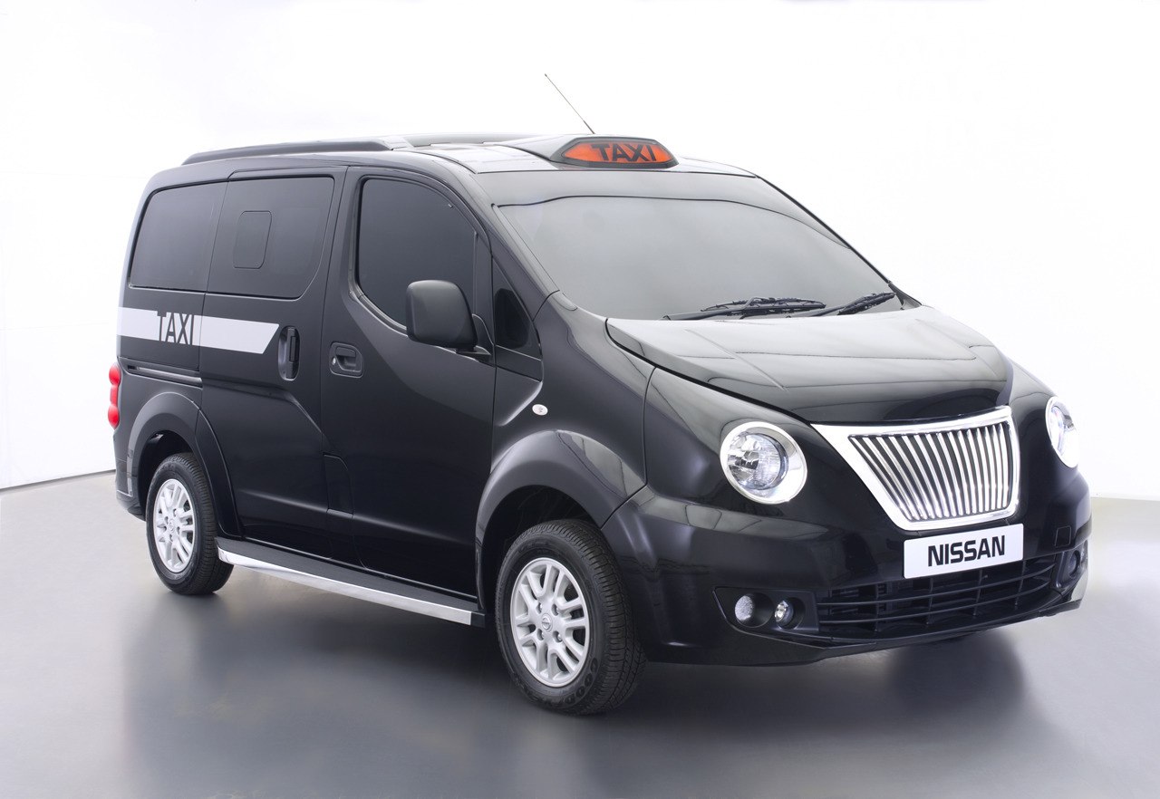 nissan nv200 london taxi photo gallery autoblog. Black Bedroom Furniture Sets. Home Design Ideas