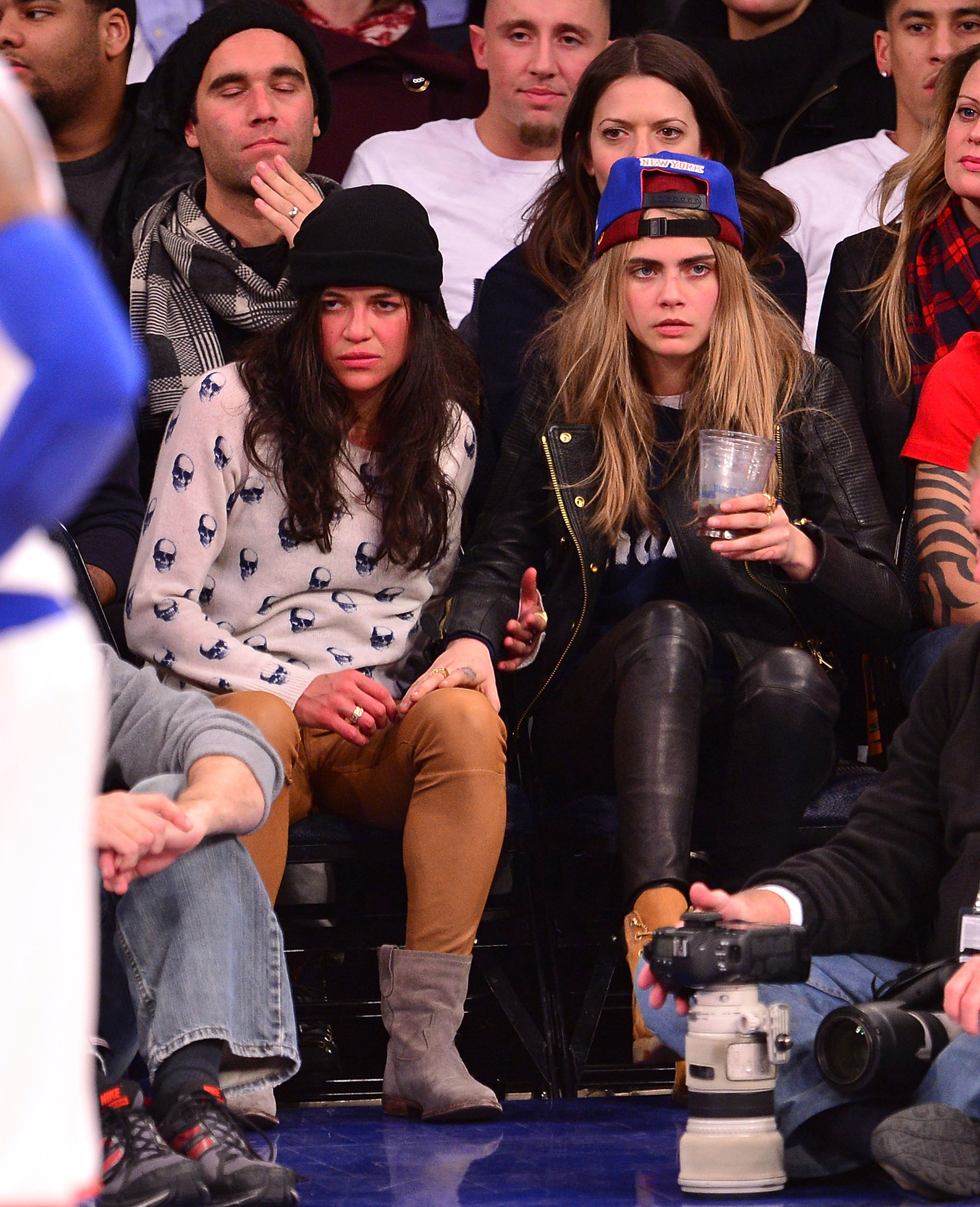 Michelle rodriguez and cara delevingne are