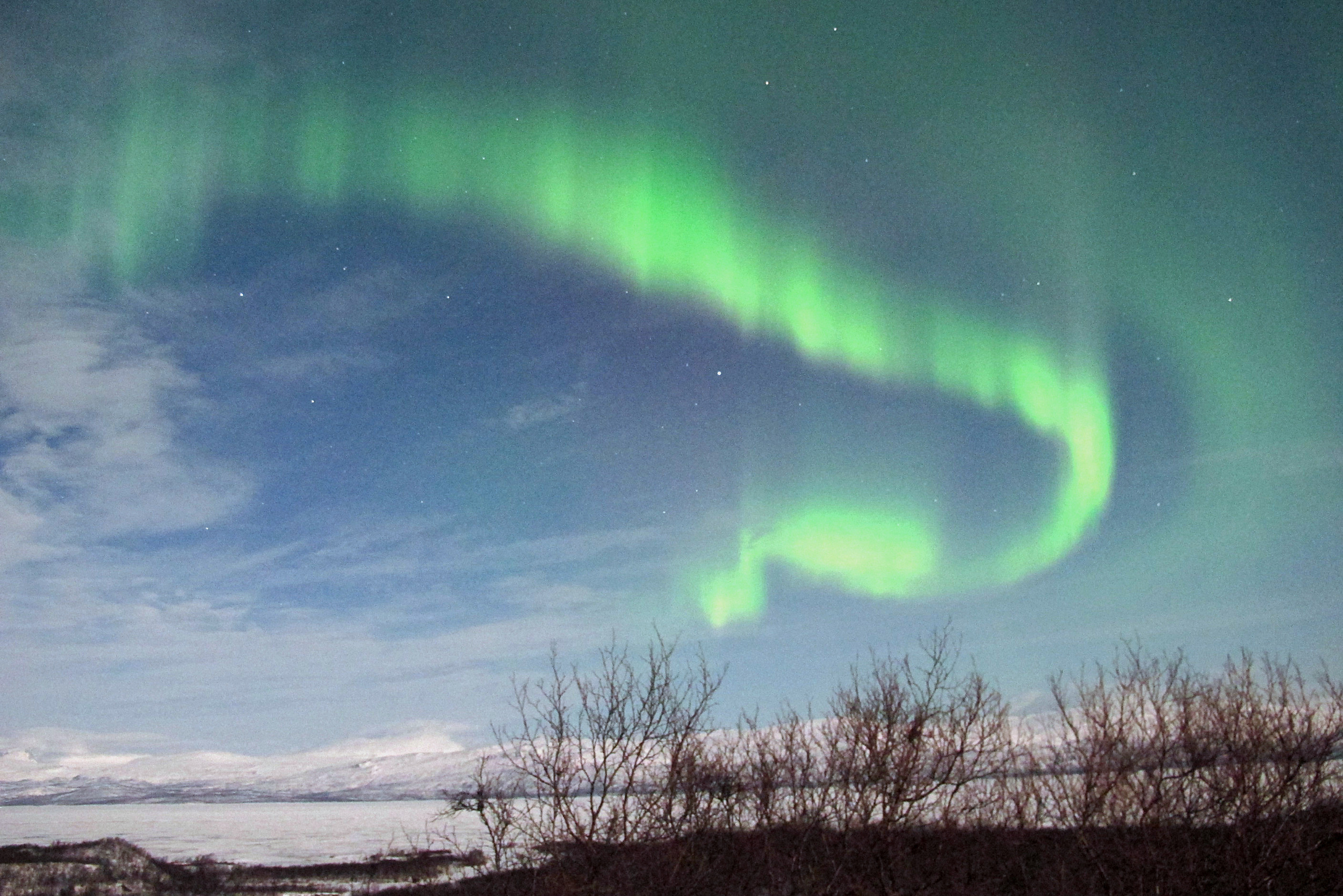 Northern lights may expand south next couple days - AOL News