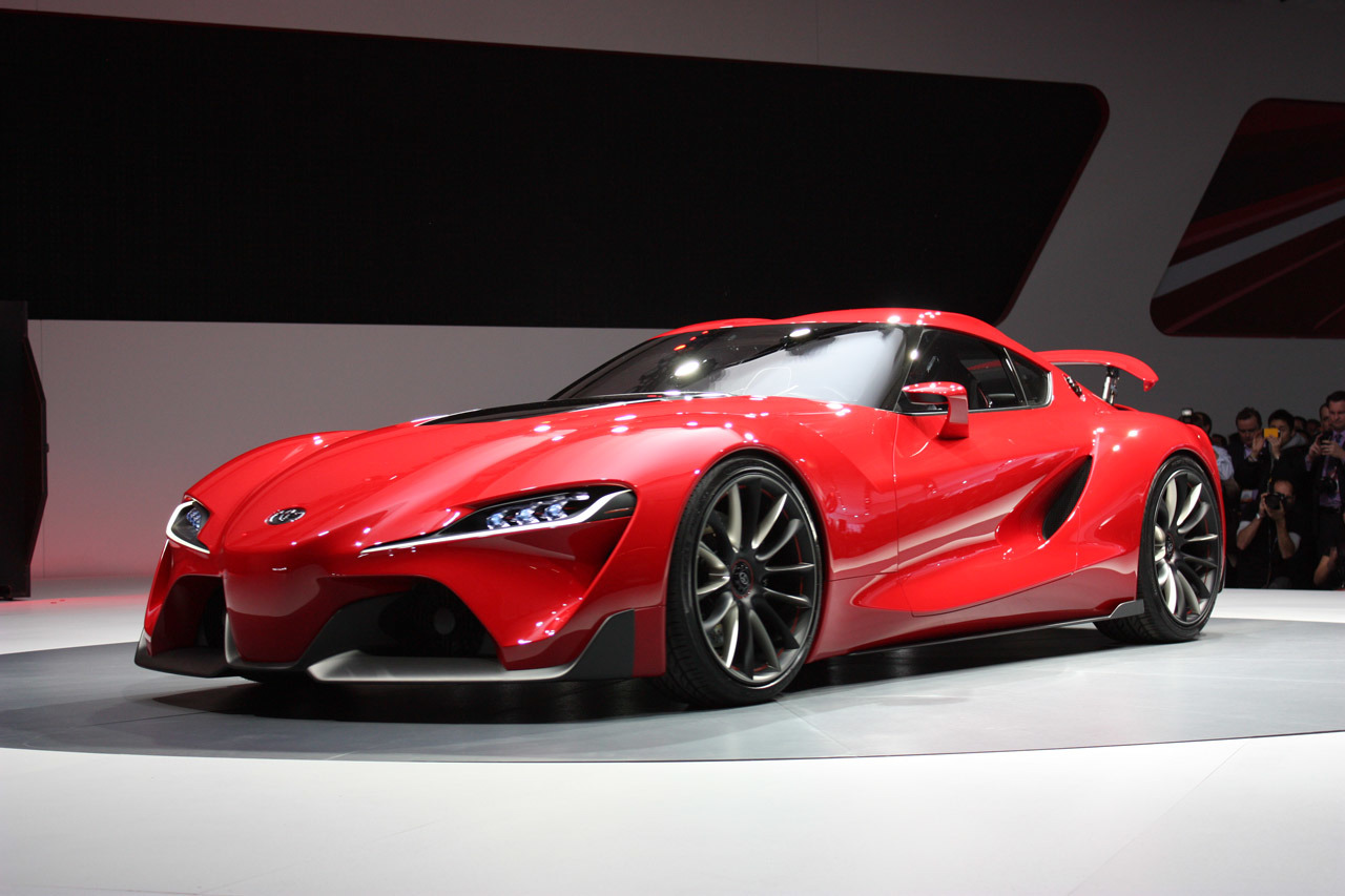 2015 Toyota Supra Price >> Official Toyota Ft 1 Concept First New Supra Prototype Spotted