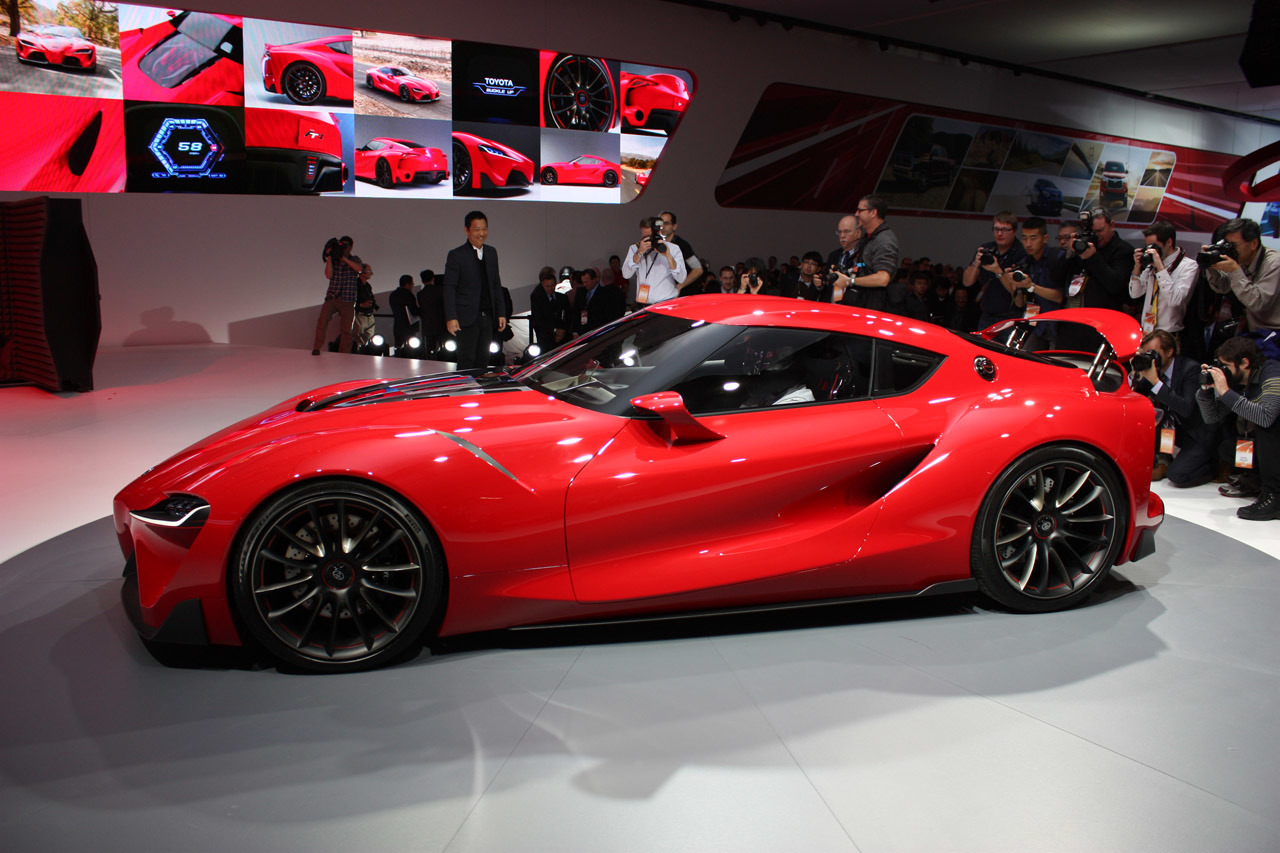 Toyota Ft 1 Concept Detroit 2014 Photo Gallery Autoblog