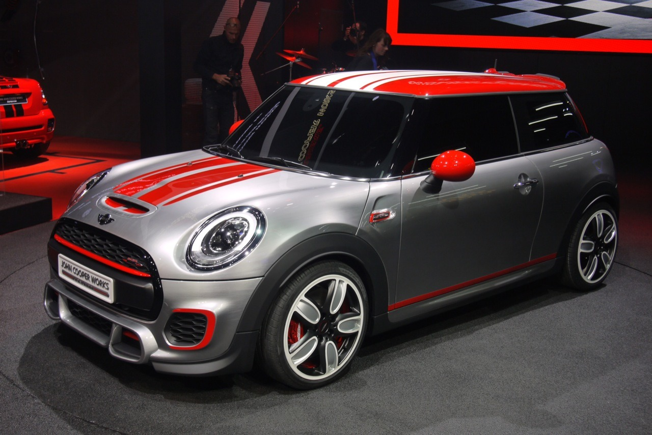a sportier f56 the john cooper works concept north. Black Bedroom Furniture Sets. Home Design Ideas