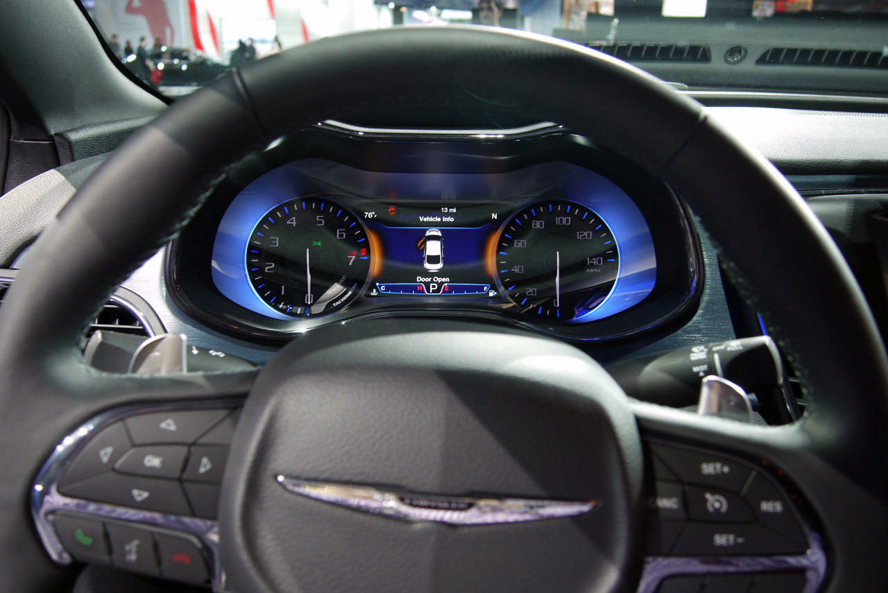 Showing pictures for: Chrysler 200 2015 Interior