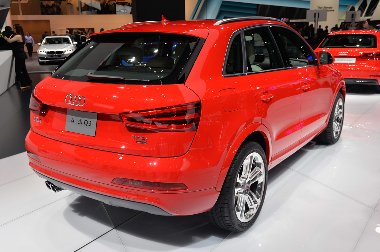 the audi q3 shows off in detroit audi q3 forum. Black Bedroom Furniture Sets. Home Design Ideas