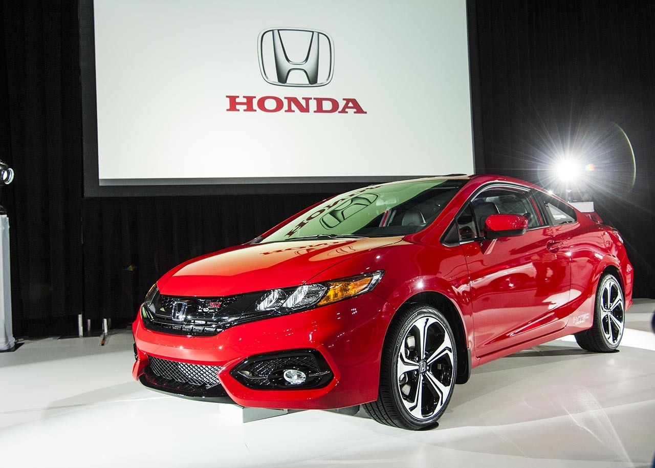 honda civic si 2014 coupe red. Black Bedroom Furniture Sets. Home Design Ideas