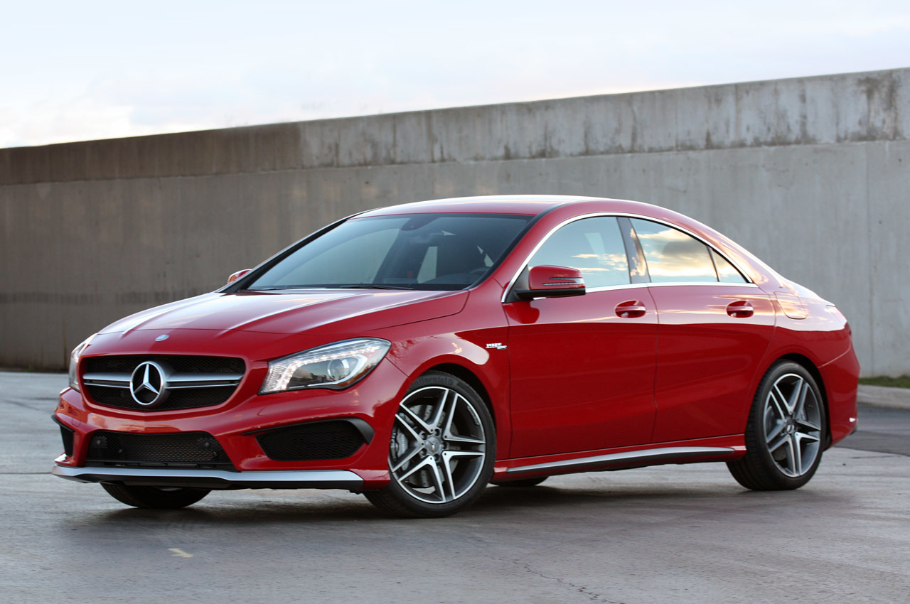 2014 mercedes benz cla45 amg review photo gallery autoblog. Black Bedroom Furniture Sets. Home Design Ideas