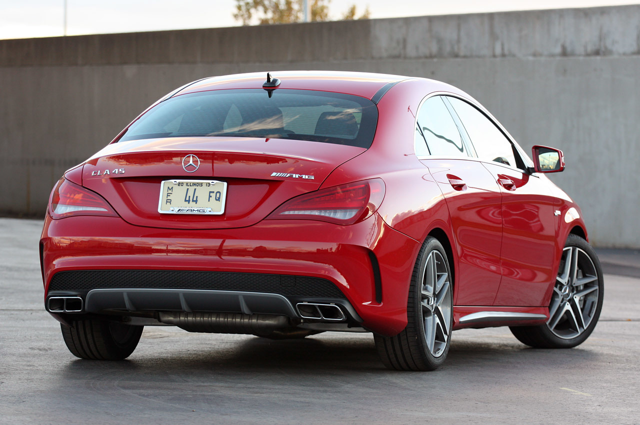 Mercedes Benz mercedes benz cla 45 amg : 2014 Mercedes-Benz CLA45 AMG: Review Photo Gallery - Autoblog