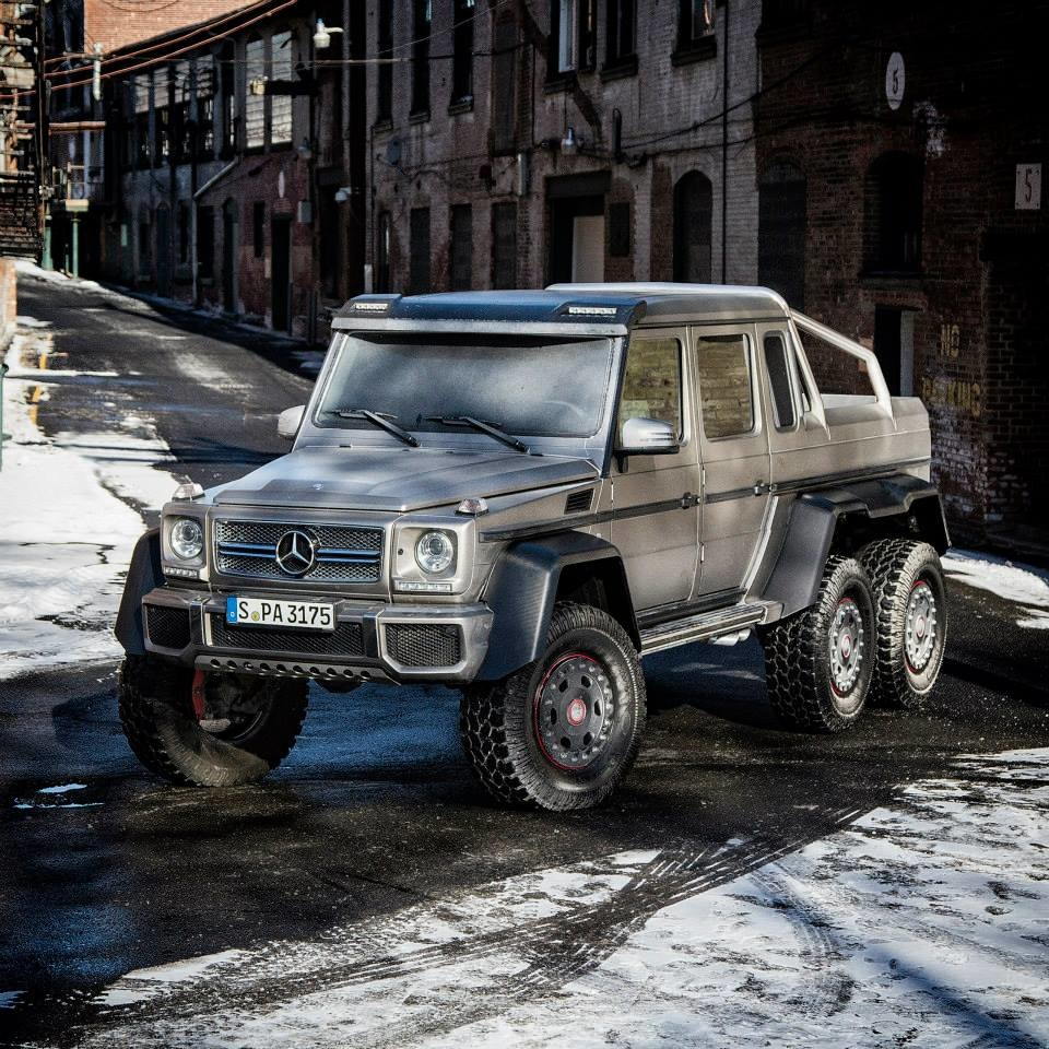 Mercedes benz g63 amg 6x6 in america photo gallery autoblog for Mercedes benz g63 6x6 amg