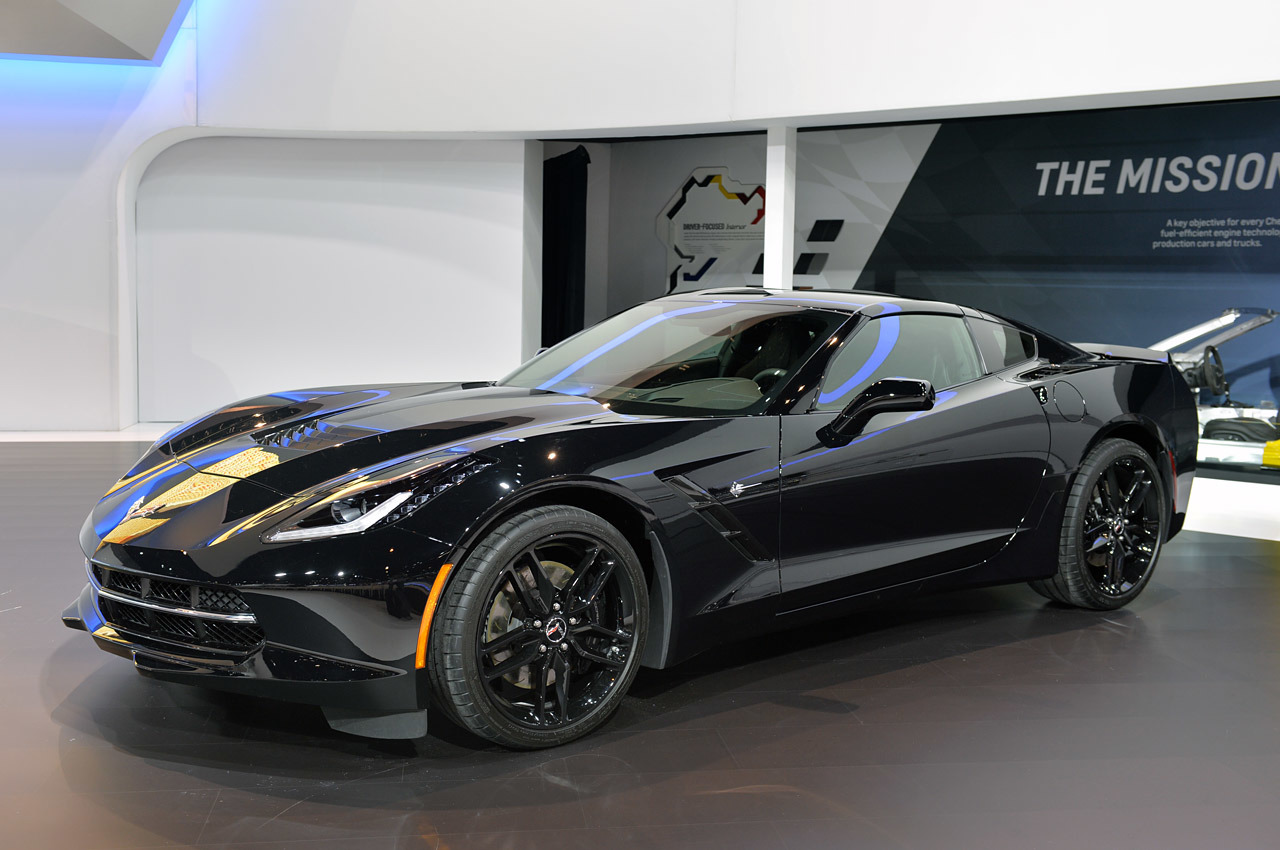 2014 Corvette C7 Stingray Quot Black Widow Quot Dark Cars Wallpapers