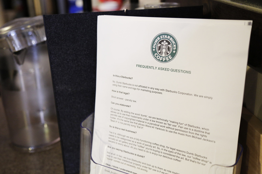 Dumb Starbucks: A Smart Move, or Blatant Infringement? | Vanderbilt ...