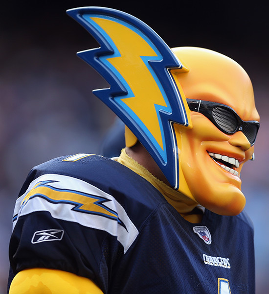 San Diego Chargers Mascot San Diego Chargers