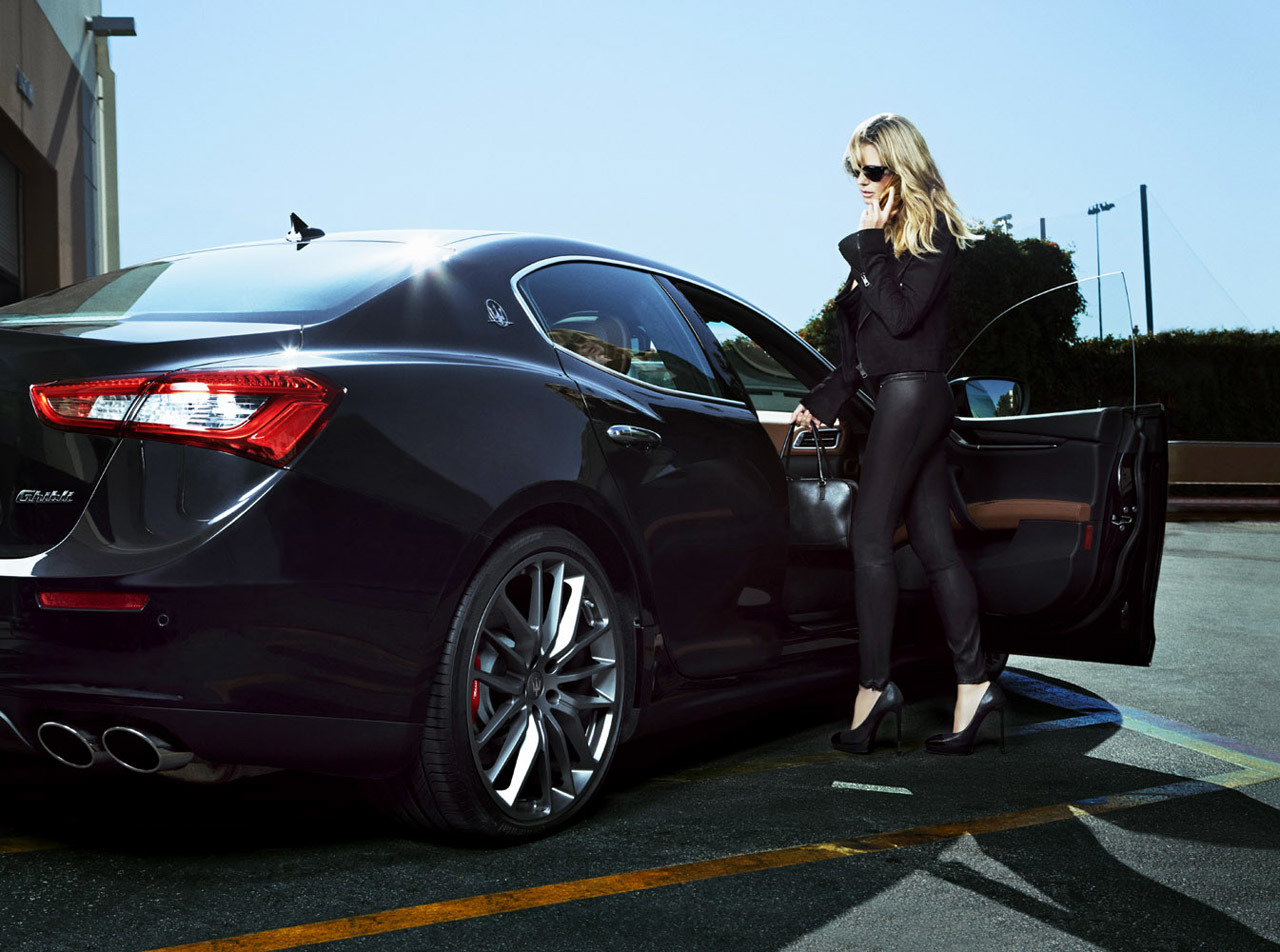 maserati and heidi klum beyond the swimsuit photos