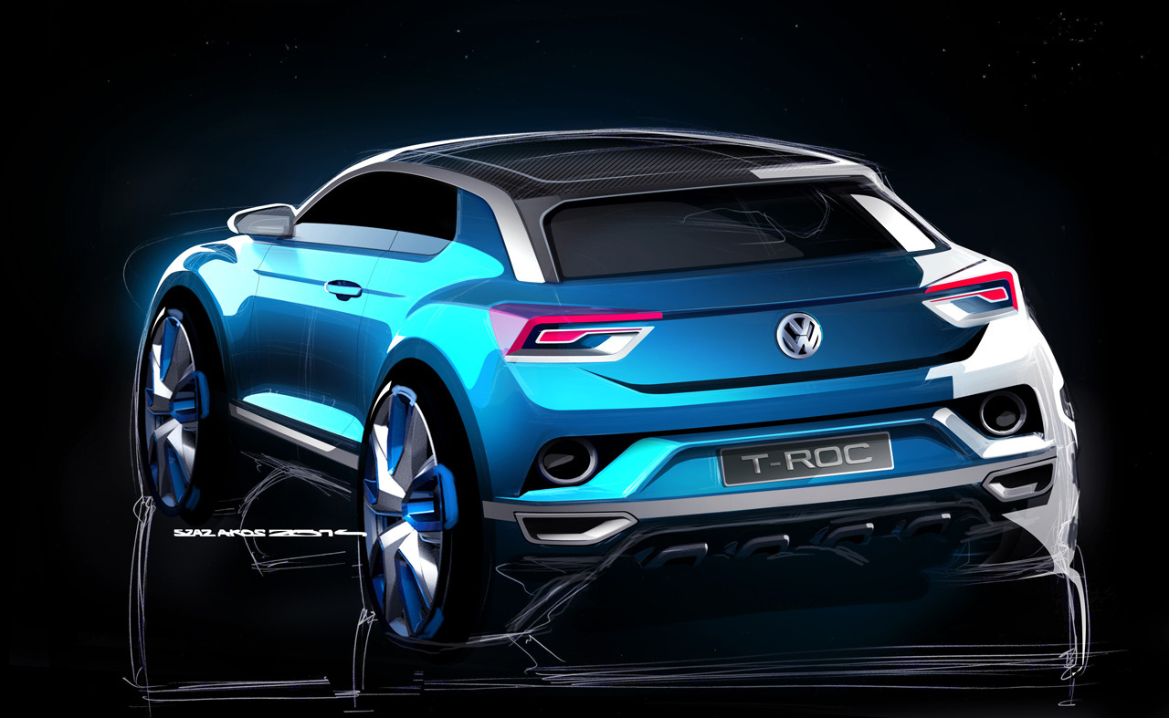 volkswagen t roc concept photo gallery autoblog. Black Bedroom Furniture Sets. Home Design Ideas