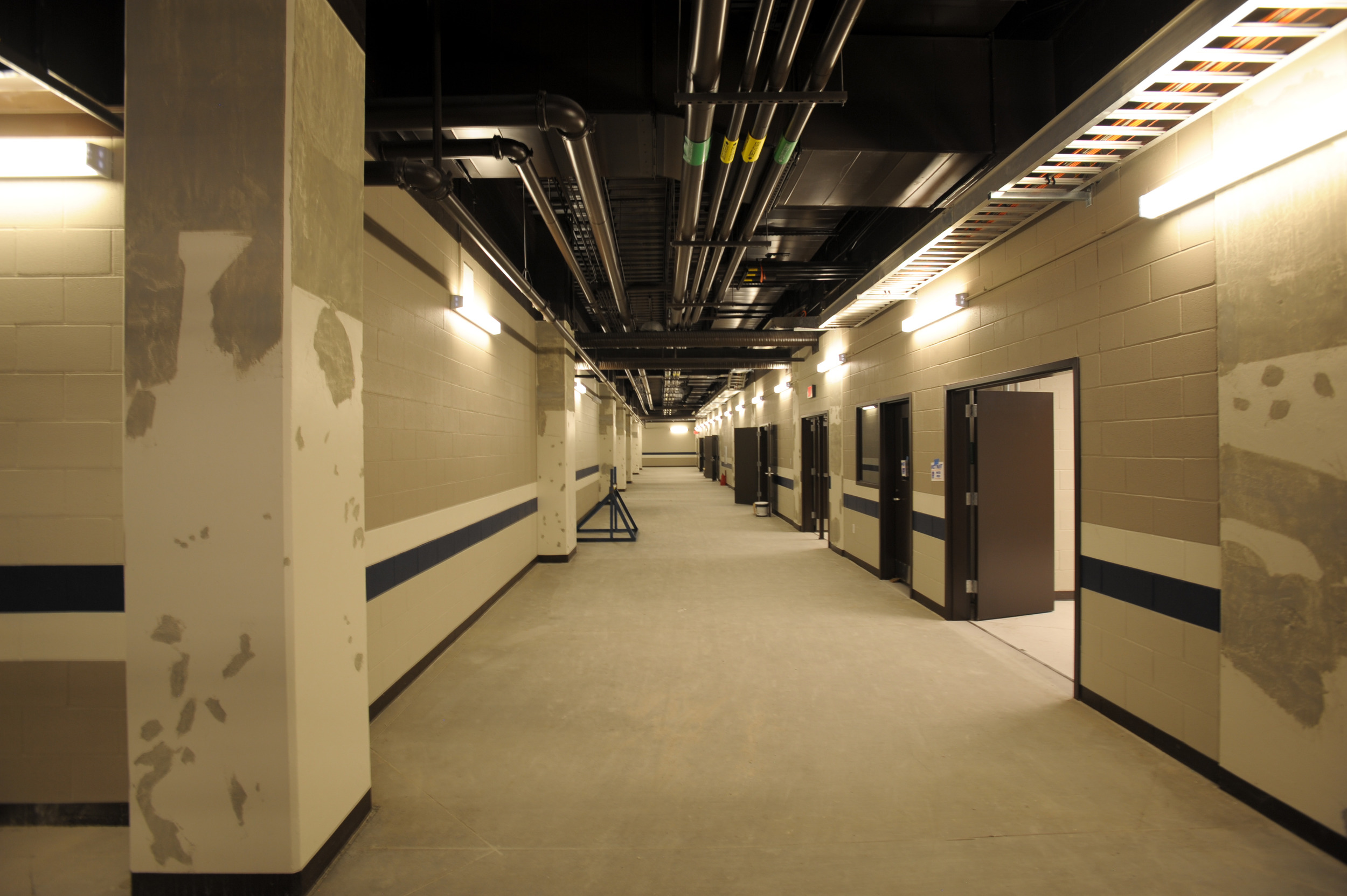 Allen Eagle Stadium Locker Room