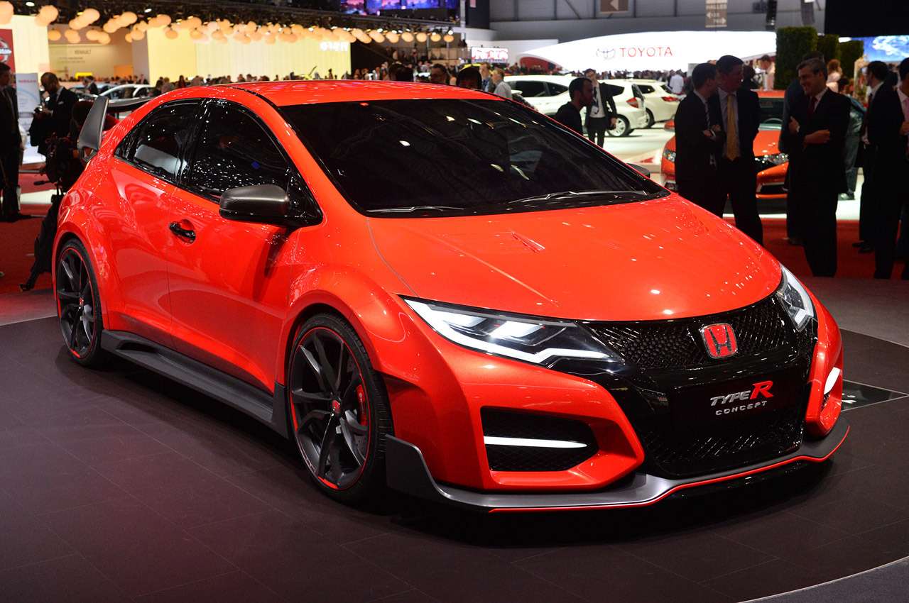 honda civic type r concept geneva 2014 photo gallery autoblog. Black Bedroom Furniture Sets. Home Design Ideas