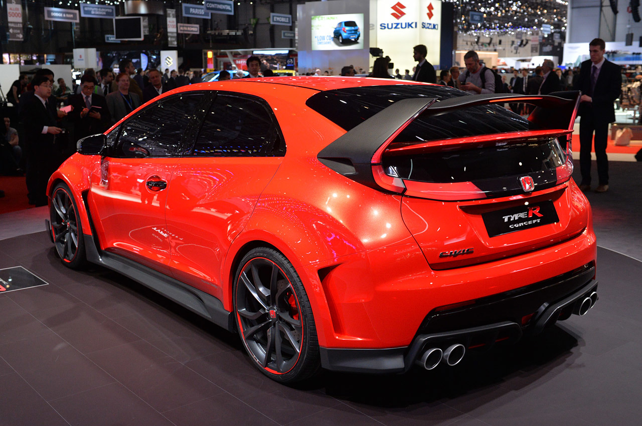 Honda Civic Type R Concept Geneva 2014 Photo Gallery