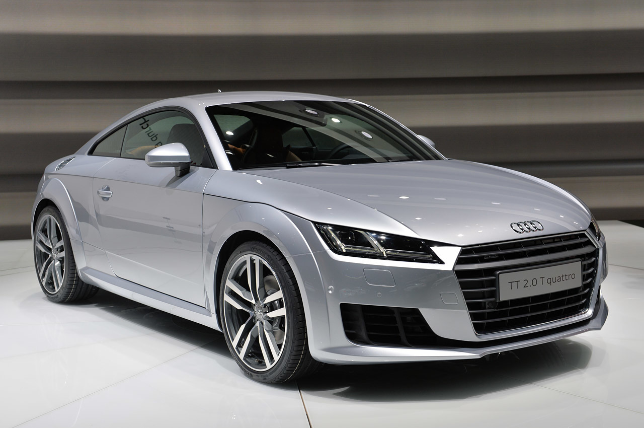 2015 Audi Tt Geneva 2014 Photo Gallery Autoblog