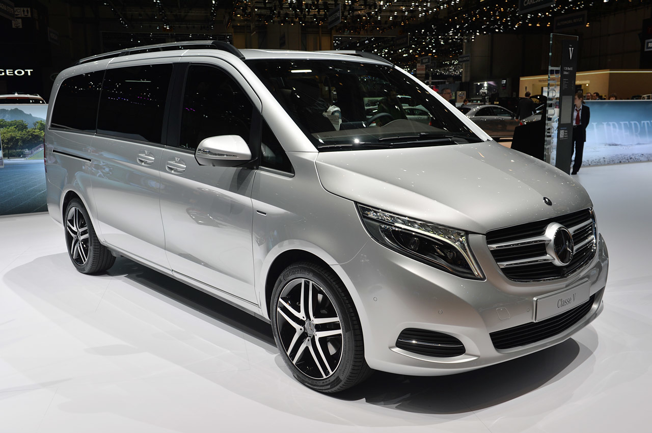 2014 mercedes benz v class geneva 2014 photo gallery autoblog. Black Bedroom Furniture Sets. Home Design Ideas