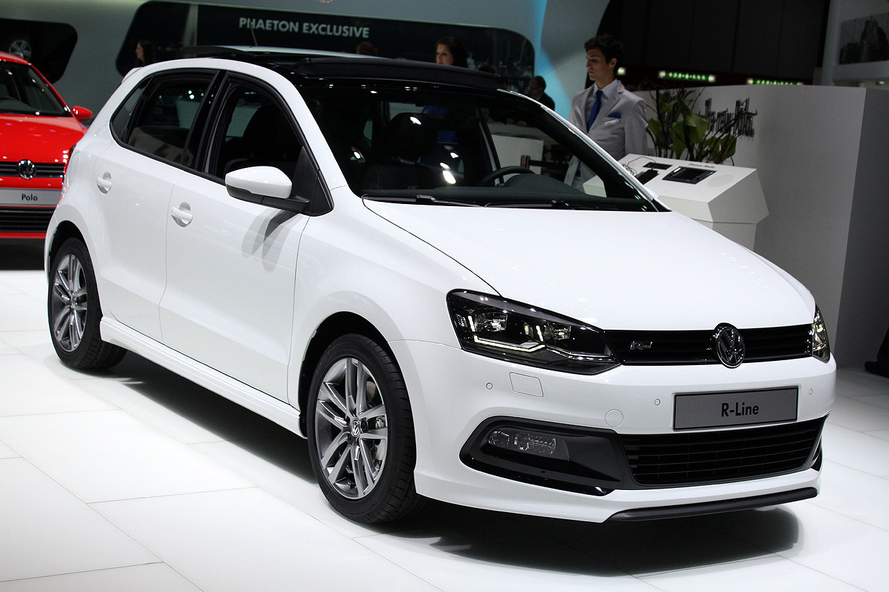 volkswagen polo tsi r line geneva 2014 photo gallery. Black Bedroom Furniture Sets. Home Design Ideas