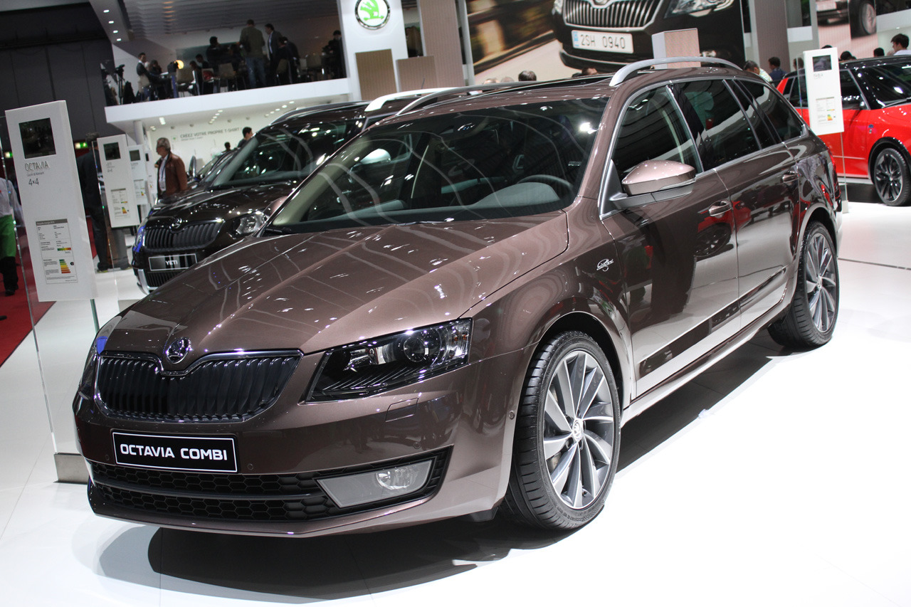 koda octavia combi laurin and klement edition geneva 2014 photo gallery autoblog. Black Bedroom Furniture Sets. Home Design Ideas