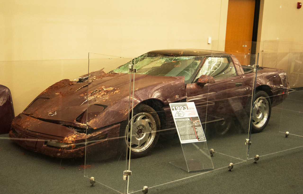 national corvette museum car recovery photo gallery autoblog. Cars Review. Best American Auto & Cars Review