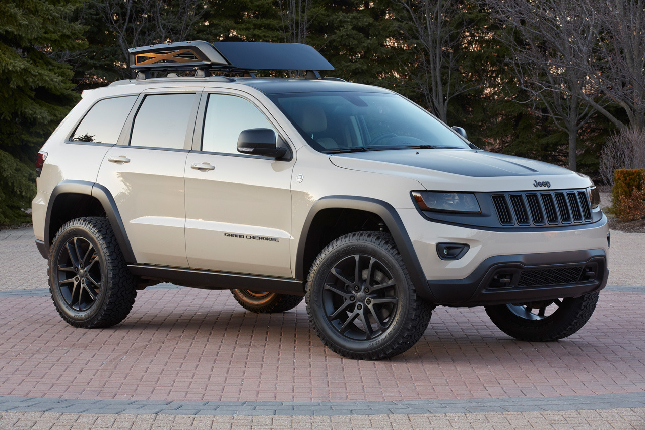 2015 Jeep Grand Cherokee Trail Warrior Concept Photos   Jeep