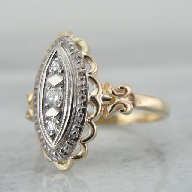 Engagement Rings 10 Vintage Designs From Etsy MyDaily UK