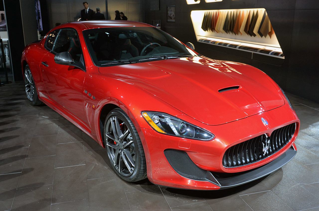 maserati granturismo mc centennial edition new york 2014. Black Bedroom Furniture Sets. Home Design Ideas