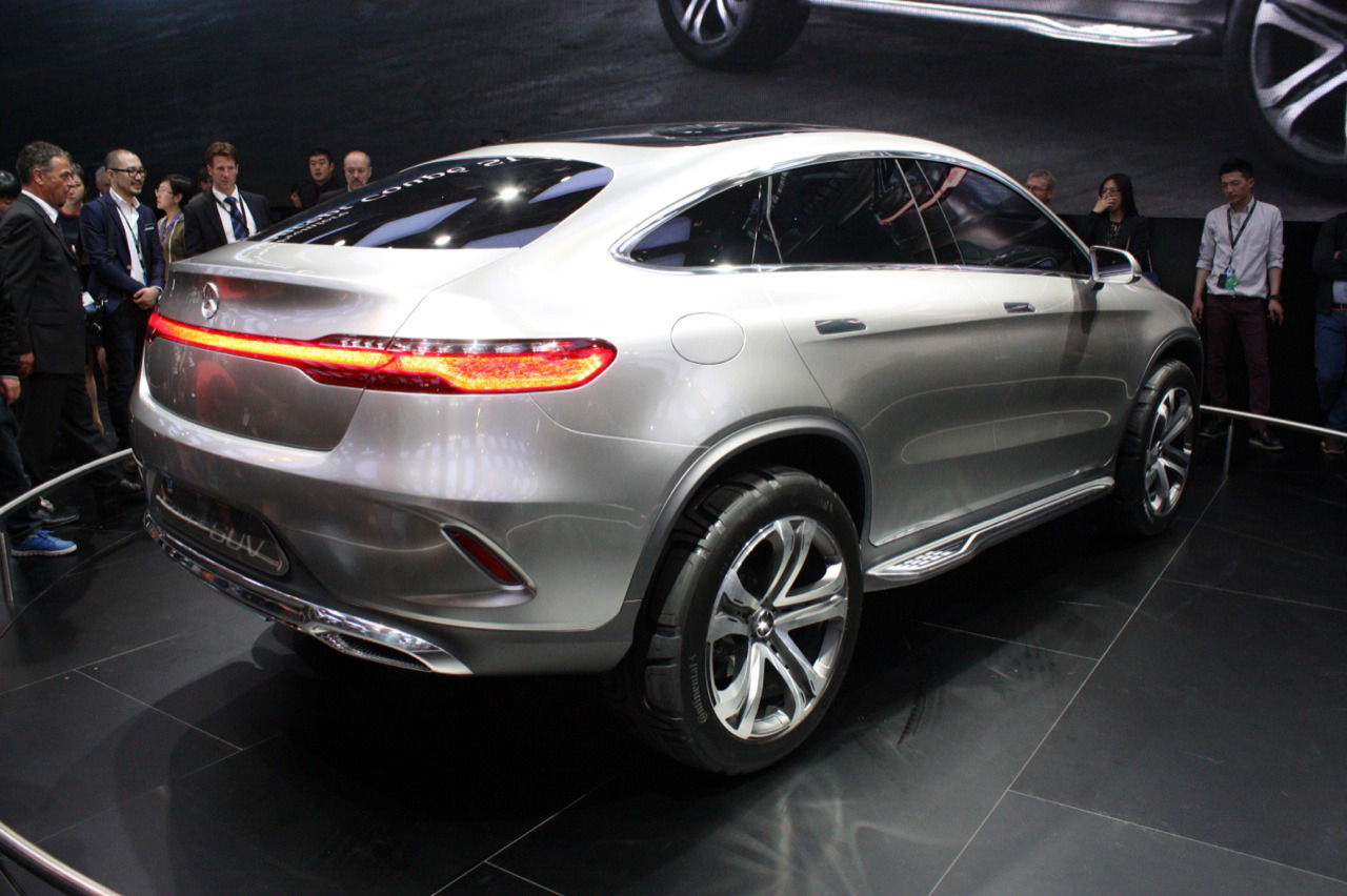 Mercedes benz concept coupe suv beijing 2014 photo gallery autoblog - Mercedes benz concept coupe suv ...
