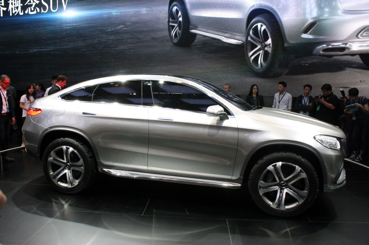 Mercedes benz concept coupe suv beijing 2014 photo for Mercedes benz coupe suv