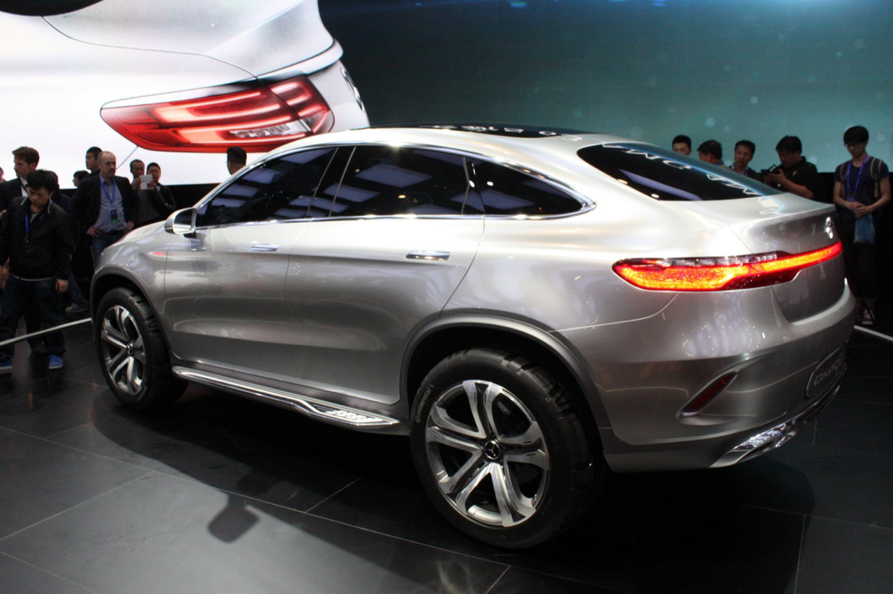 Mercedes benz concept coupe suv beijing 2014 photo for Mercedes benz concept coupe suv