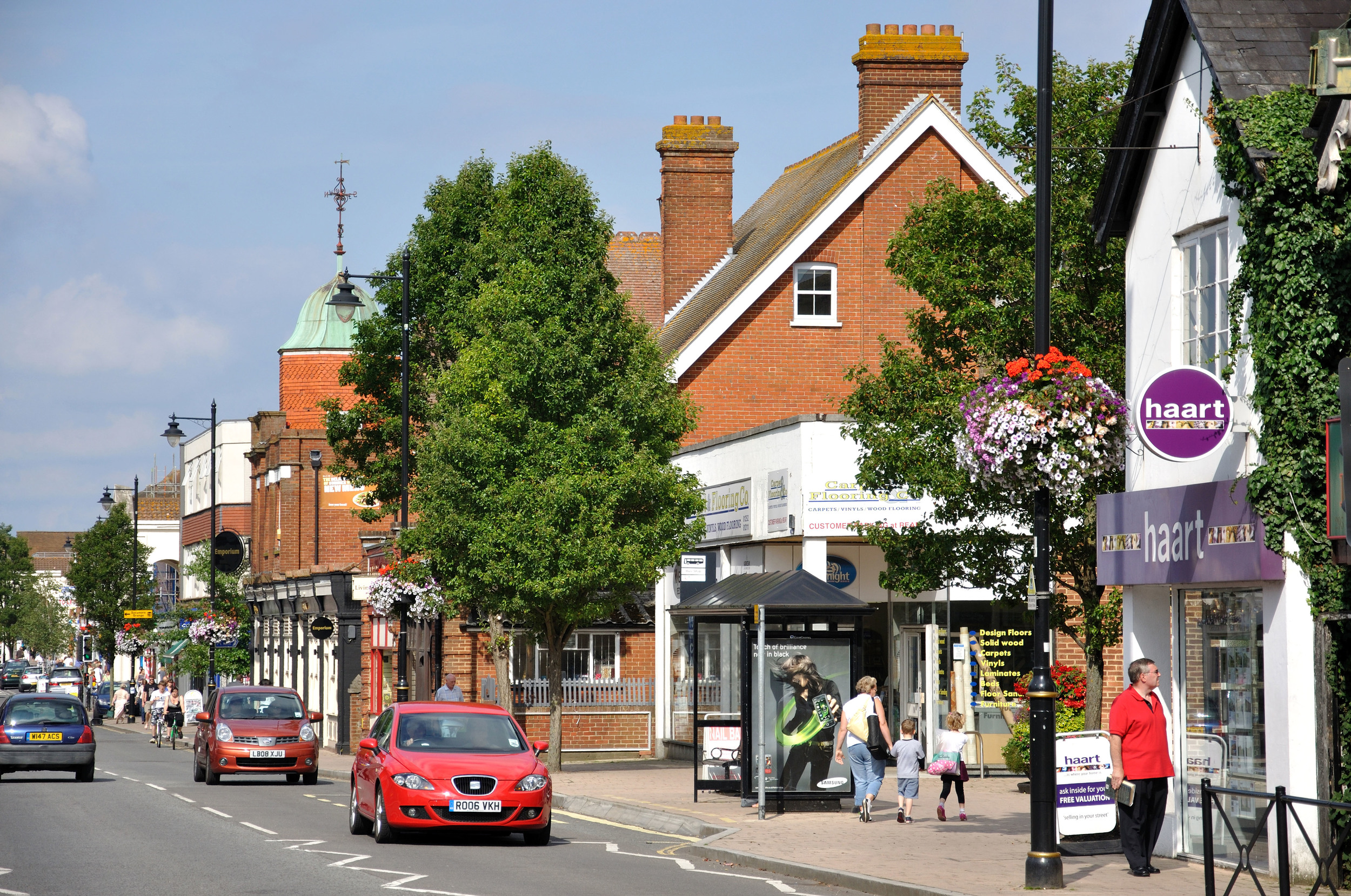 Fleet United Kingdom  City new picture : town centre fleet road fleet hampshire england united kingdom 1