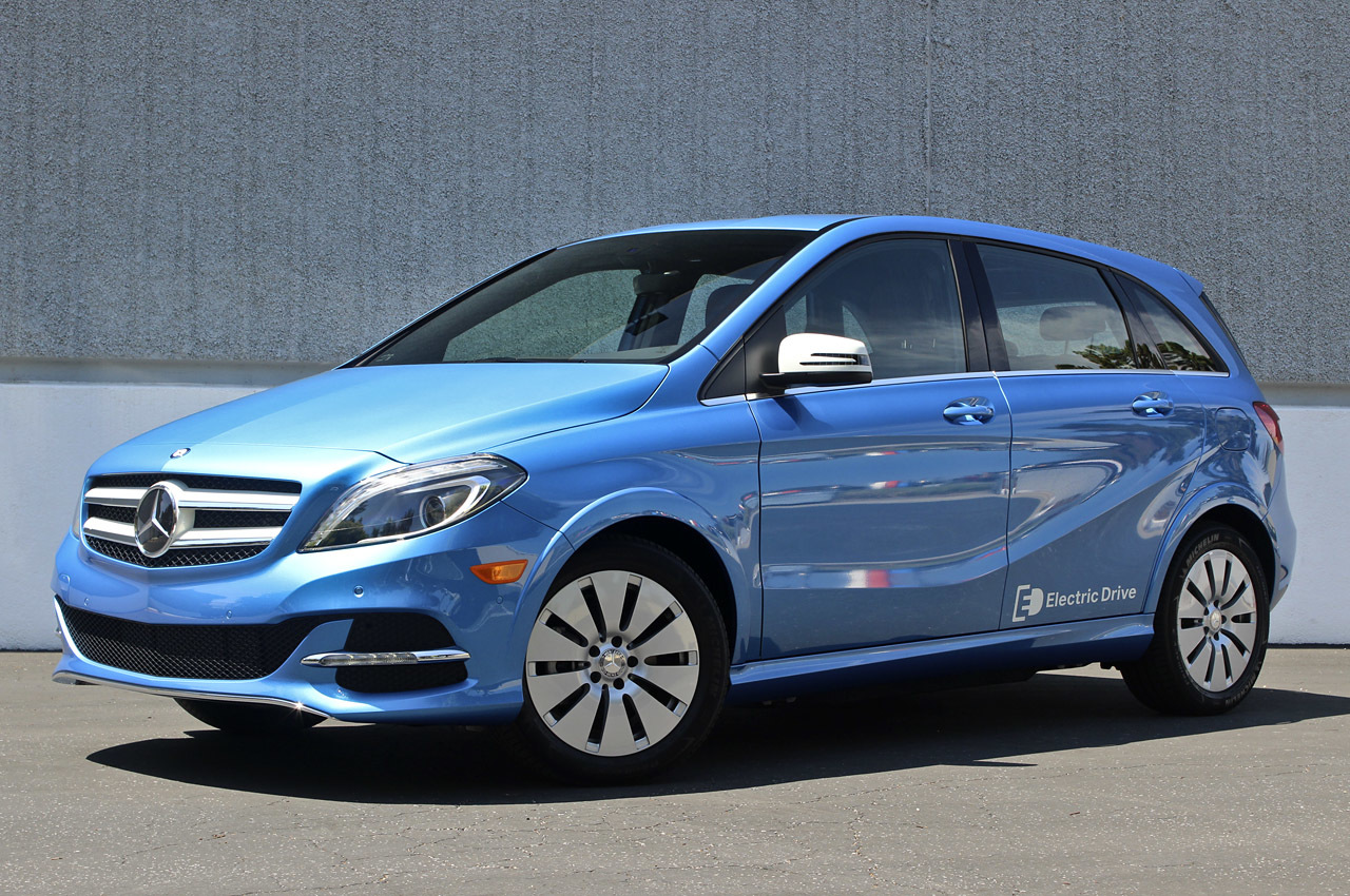2014 mercedes benz b class electric drive first drive