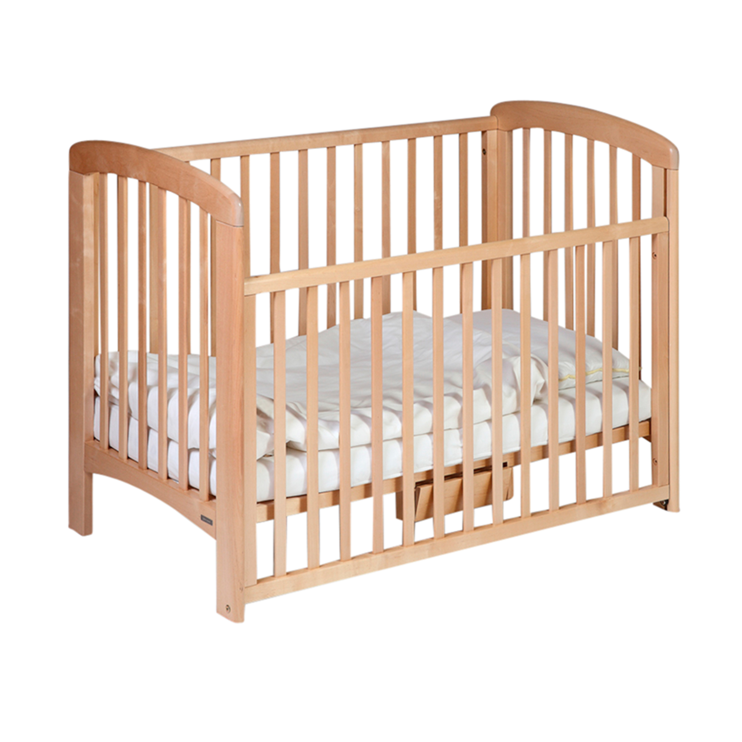 Details About John Lewis Anna Drop Side Adjustable Cot