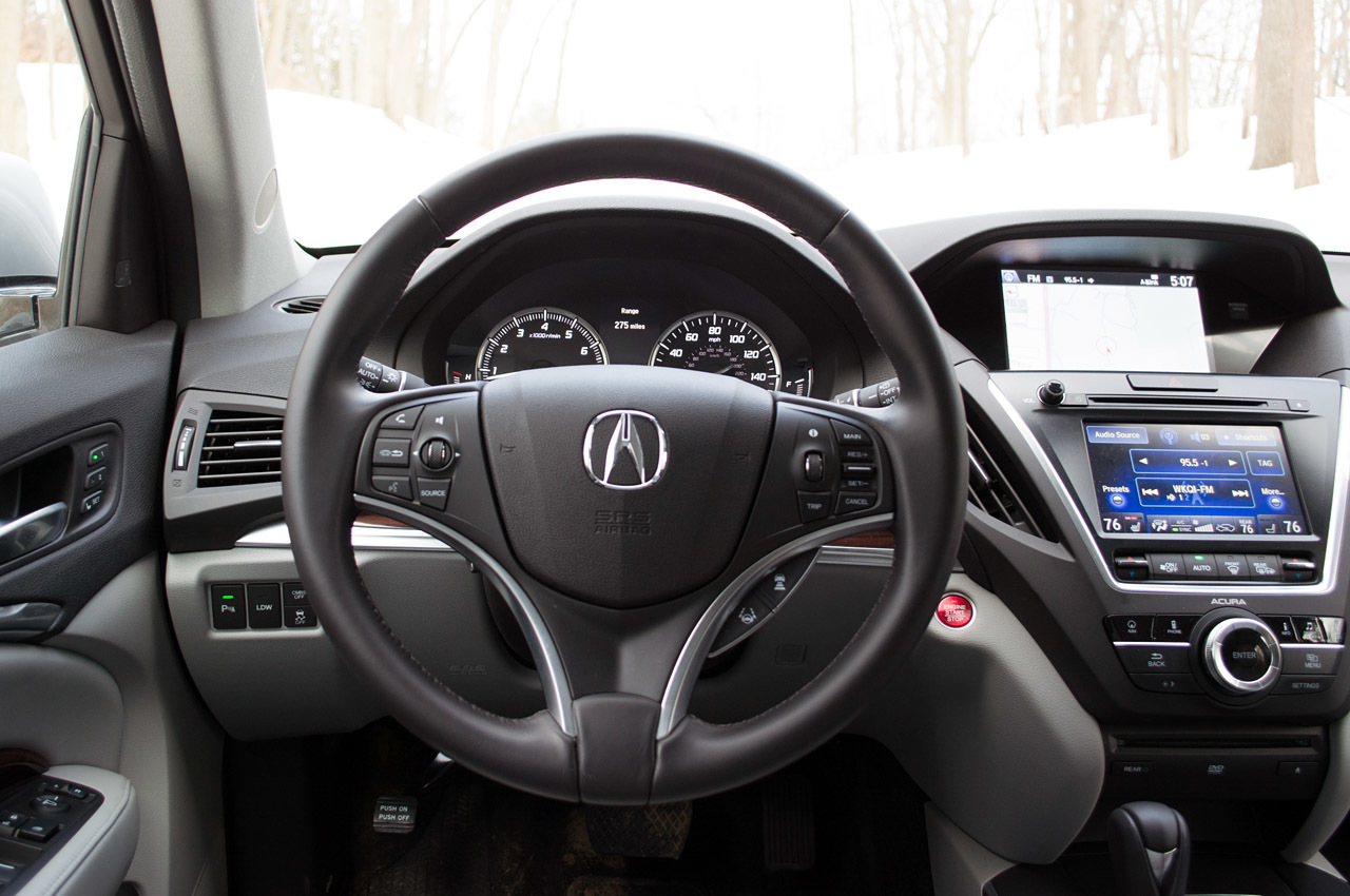 2014 acura mdx sh awd review photo gallery autoblog