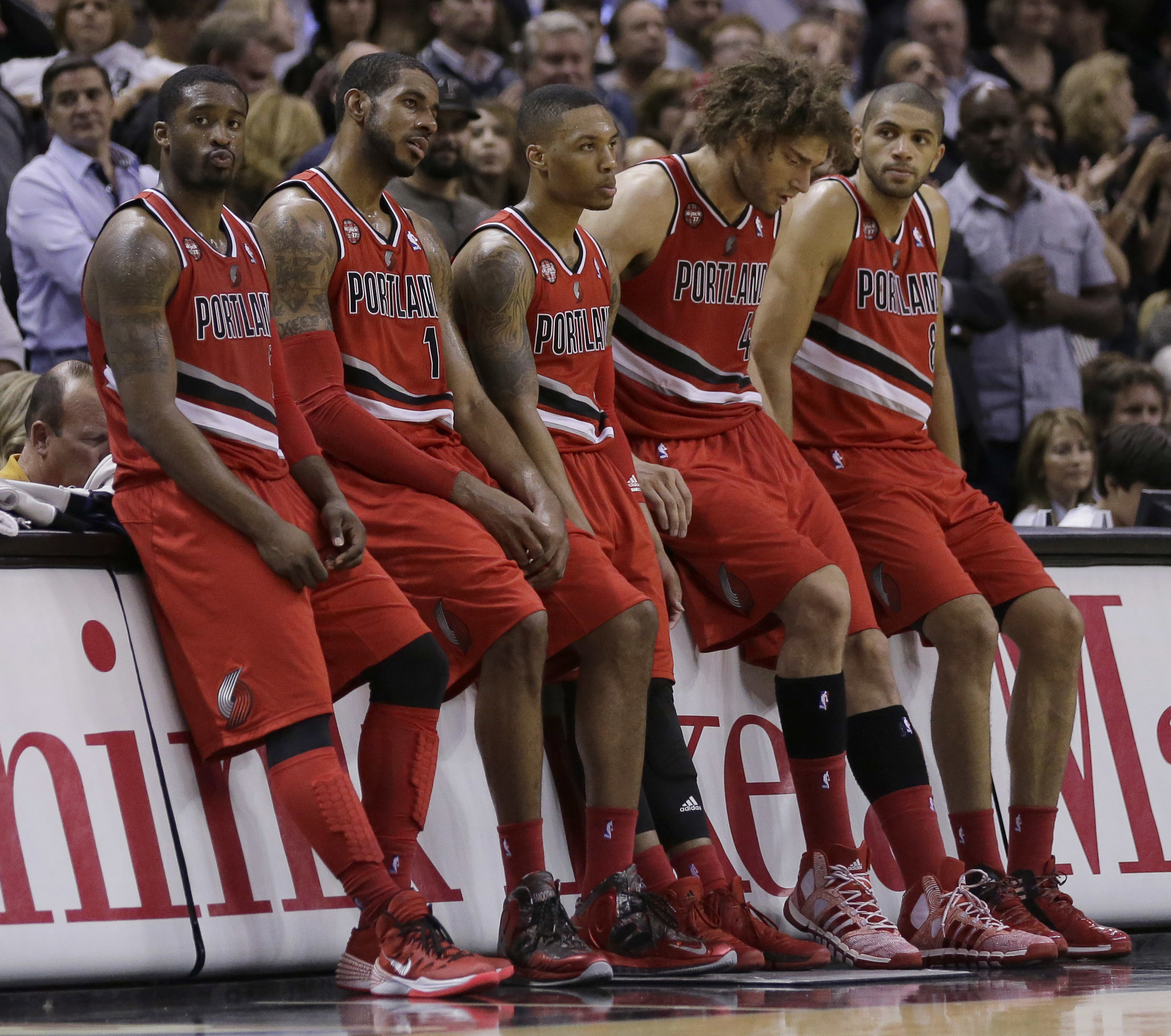Portland Trail Blazers Espn Nba: Spurs Beat Blazers, Back In West Finals