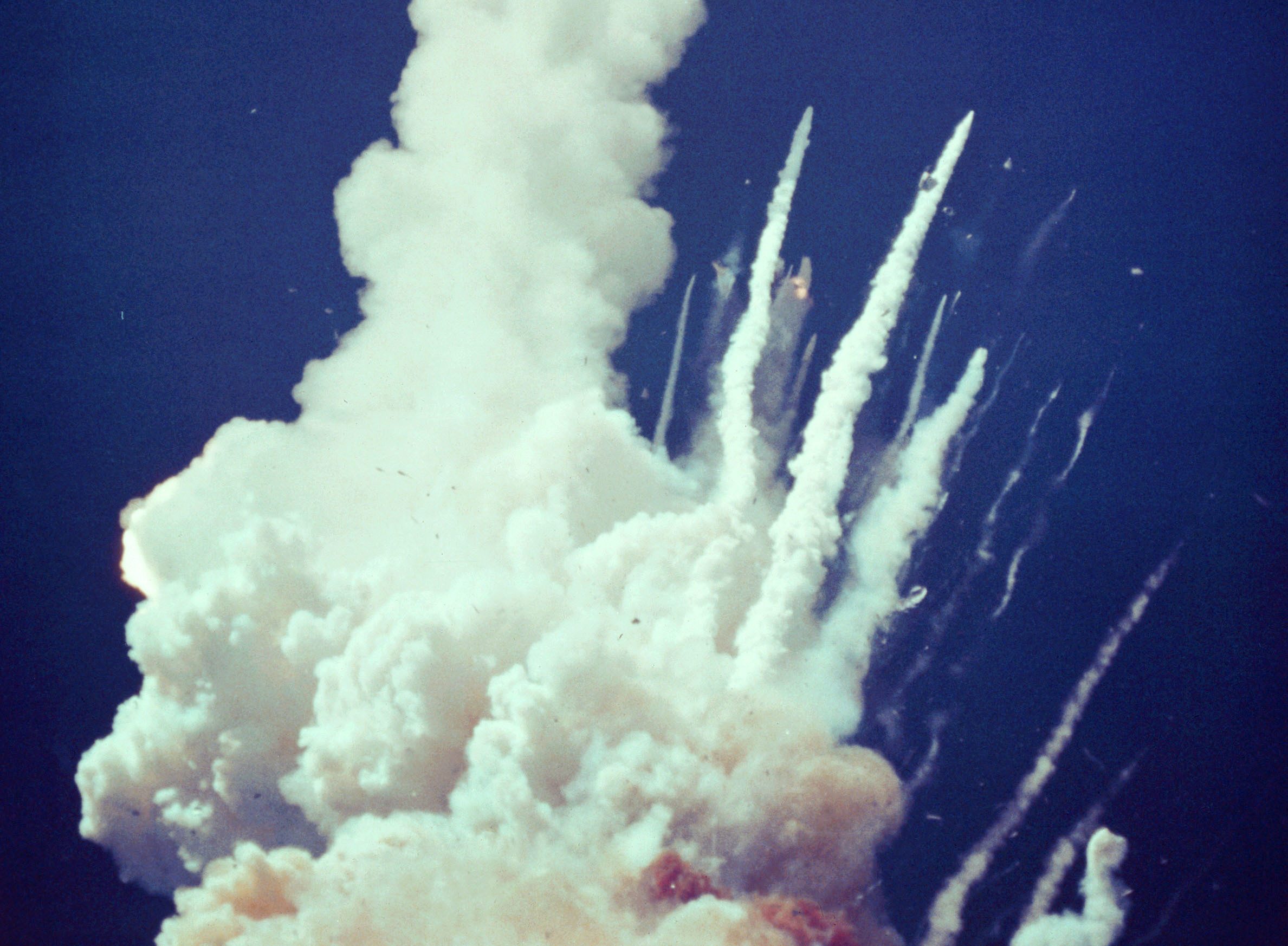 after space shuttle challenger explosion - photo #12