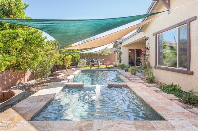 For sale homes with luxurious pools and spas for Pools in mesa az