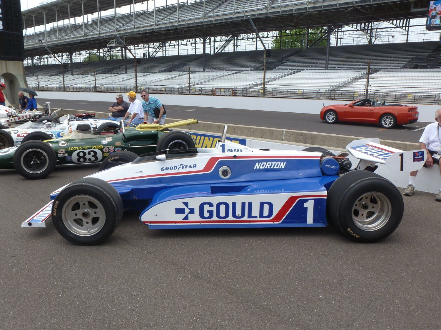 Vintage Indy Race Cars 66