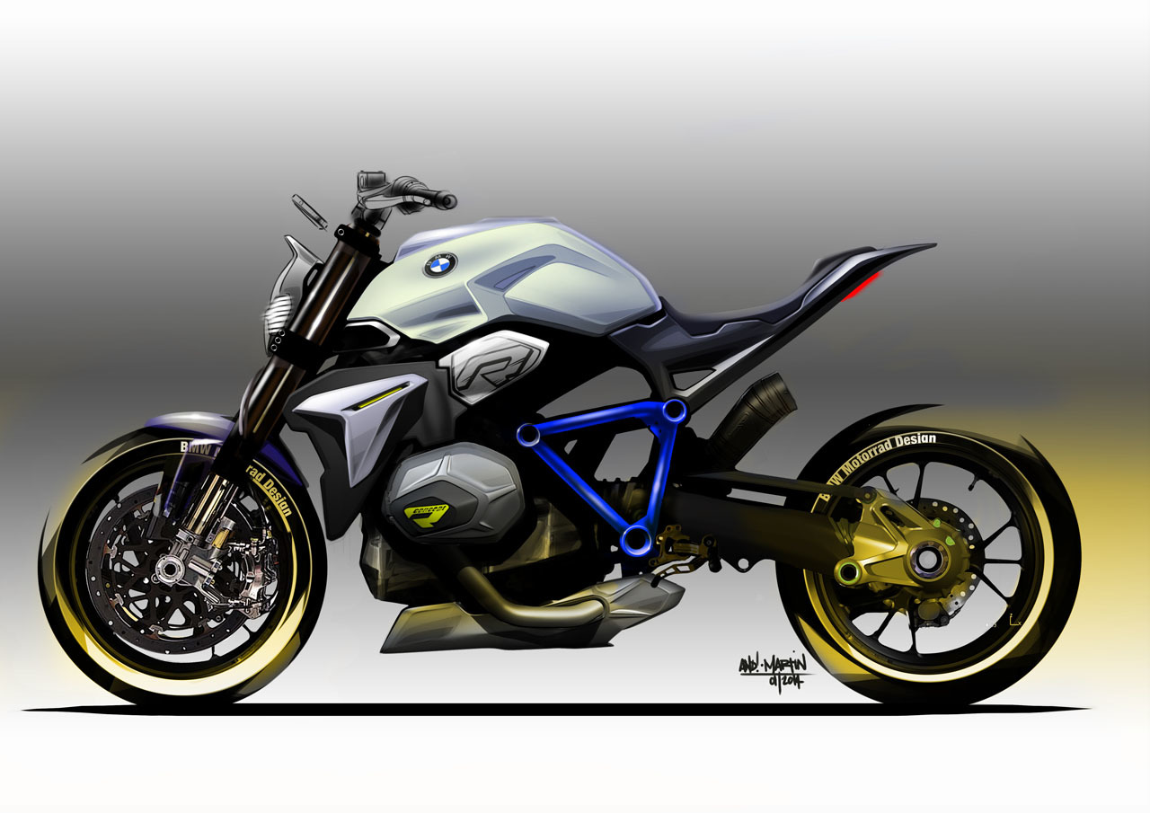 Bmw Concept Roadster Motorcycle Sketches Photo Gallery Autoblog