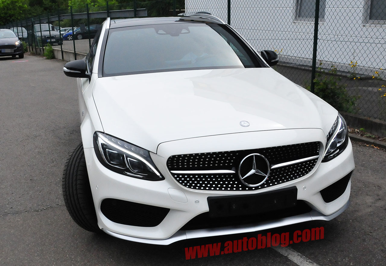 Mercedes benz c450 sport amg spy shots photo gallery for Sporty mercedes benz