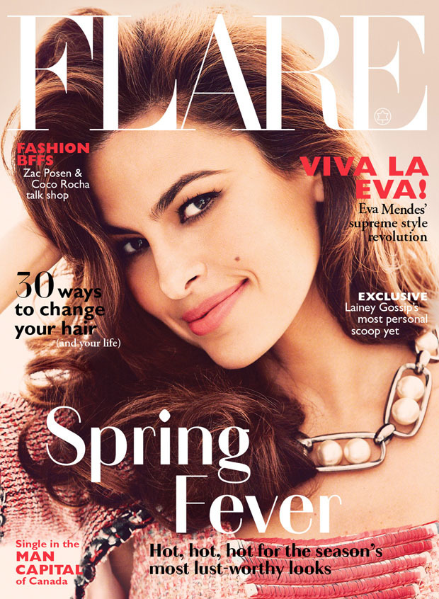 GOOD: Eva Mendes On Flare