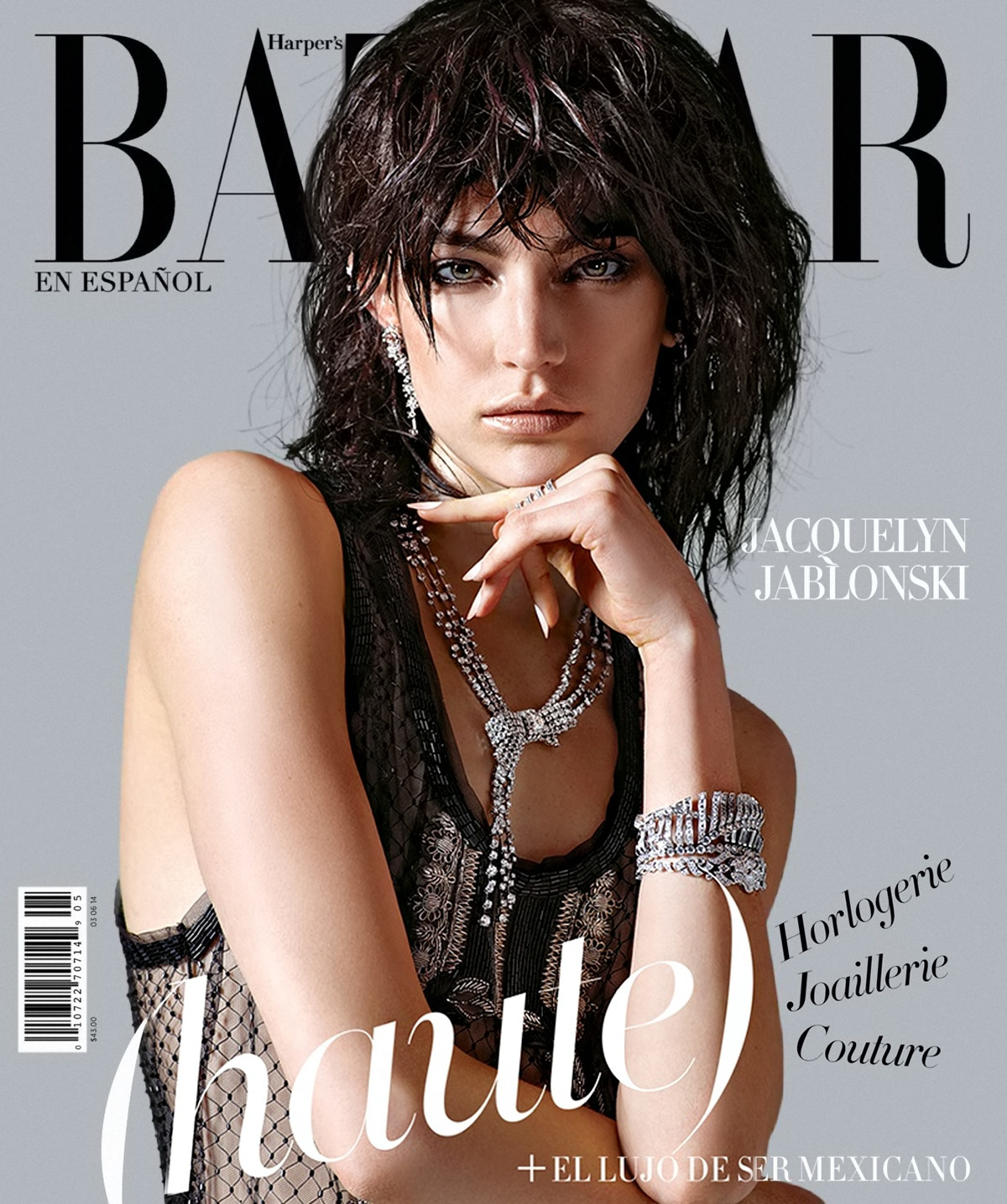 BAD: Jacquelyn Jablonski On Harper's Bazaar Spain