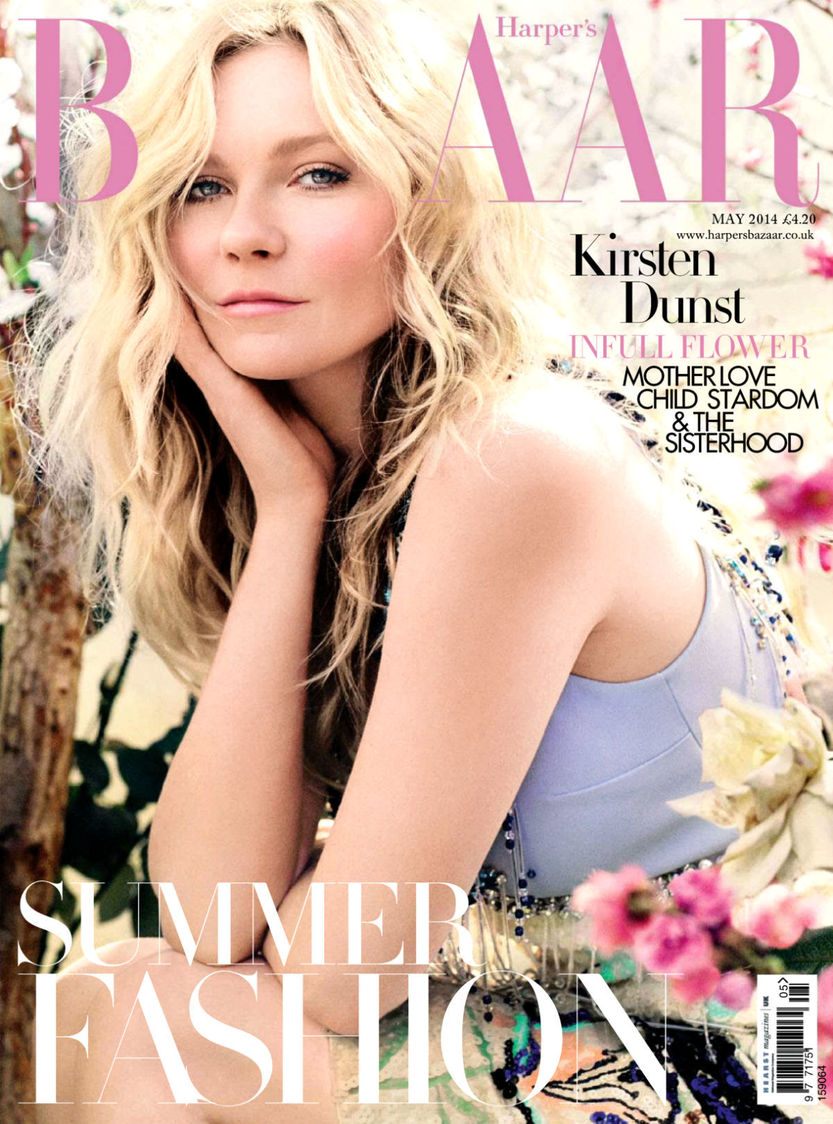 GOOD: Kirsten Dunst On Harper's Bazaar U.K.