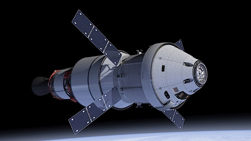 nasa orbiters orion dragon - photo #12