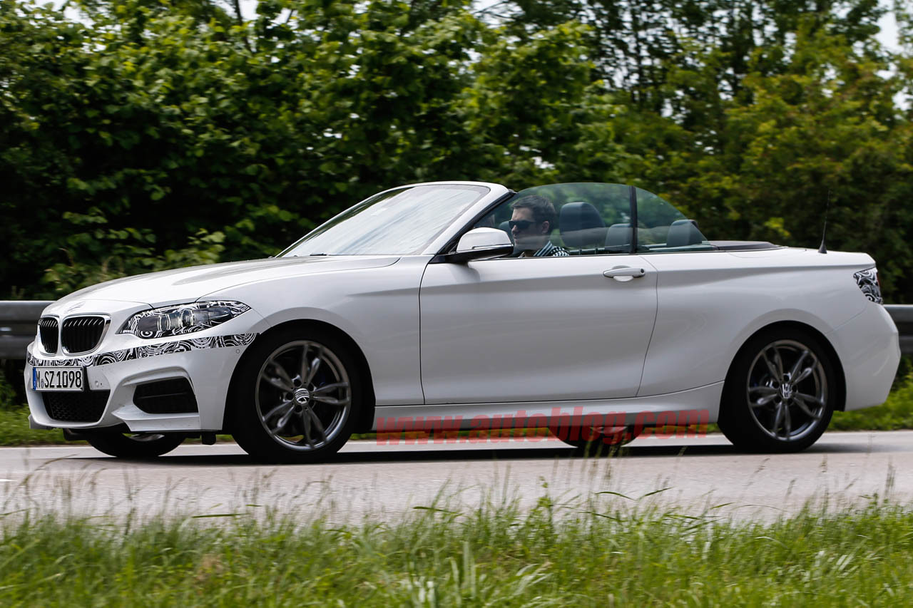 bmw 2 series cabrio spy shots photo gallery autoblog. Black Bedroom Furniture Sets. Home Design Ideas